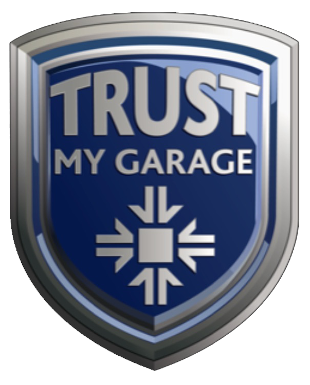 Trust My Garage Logo - MOT, Servicing, Tyres Northampton